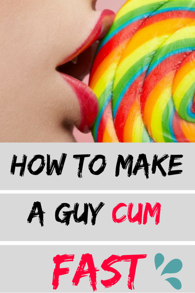 How to cum faster during sex