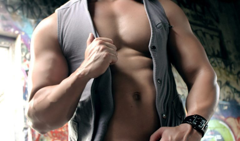 hot guy taking off top
