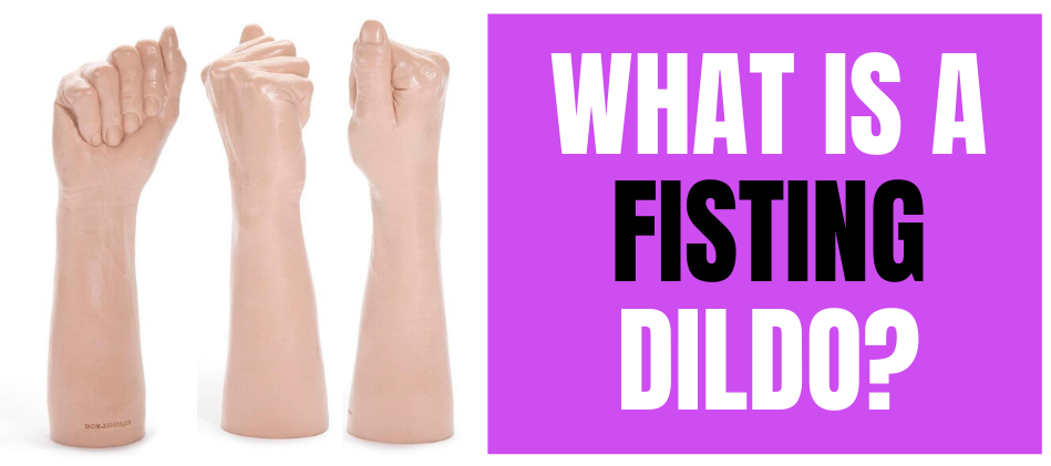 360 view of fisting dildo