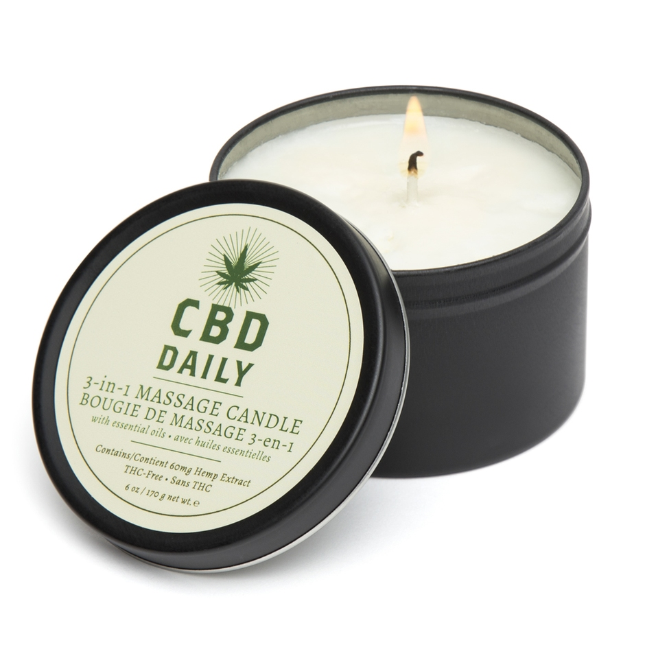 cbd wax play candle
