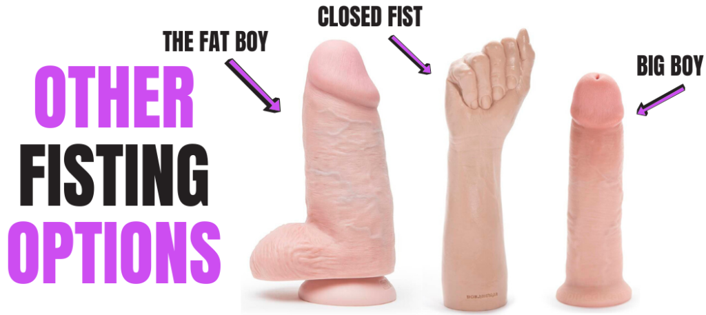 different large sex toys
