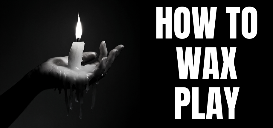 woman doing wax play with a candle