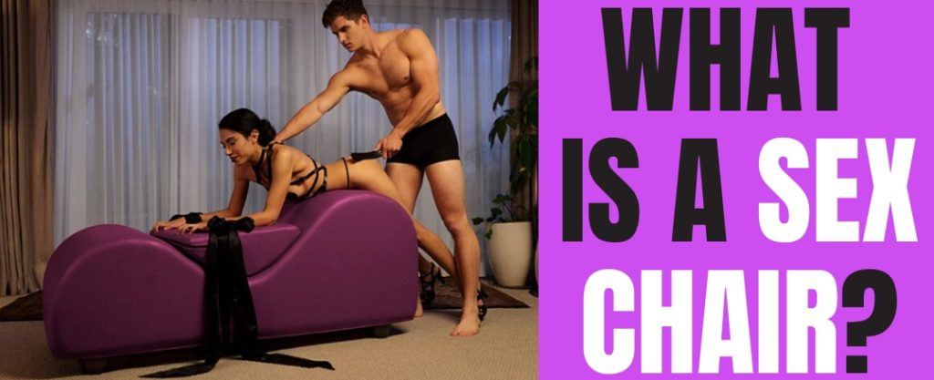 woman and man using sex bench